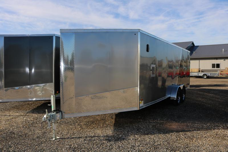 2018 Forest River Inc. 7x27' Glacier Snowmobile Trailer