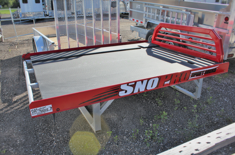 2016 Mission Snowmobile Deck