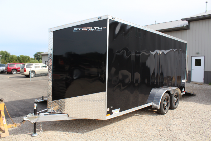 2017 Stealth Trailers 7X16 Enclosed Trailer