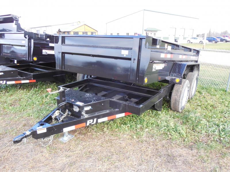 2016 PJ Trailers 6x12 D3 Dump Trailer Black Friday Special