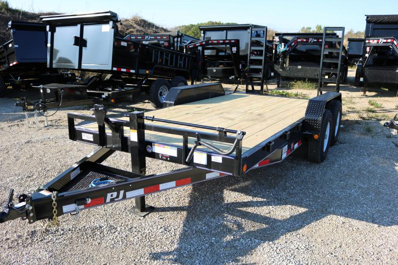 2018 PJ Trailers 24' CC Equipment Trailer