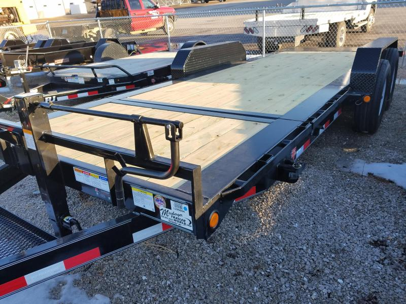 2018 PJ Trailers TJ202 Equipment Trailer