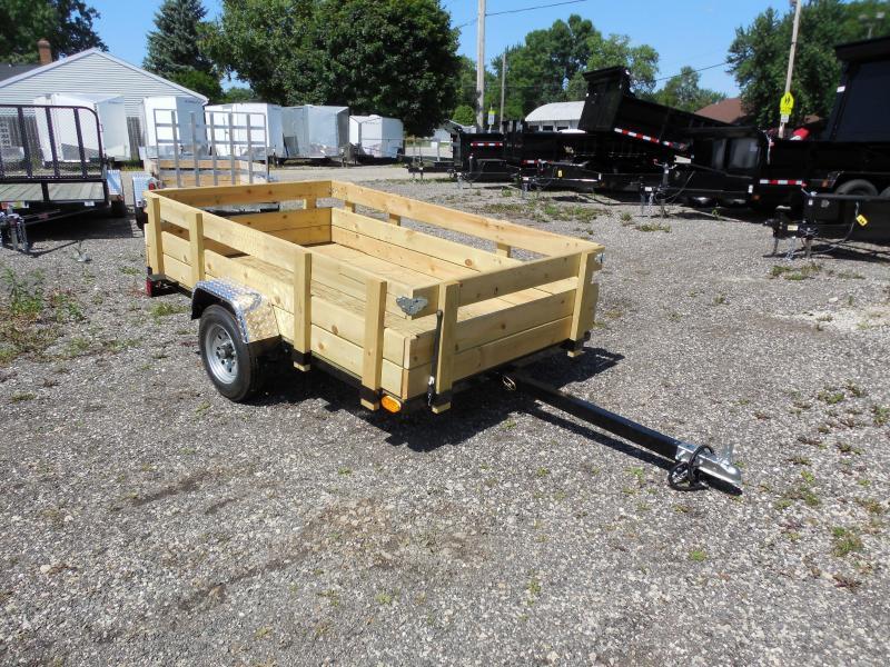 Wood Flatbed Trailer ~ Trailer inventory used car dealer wi mirsberger sales