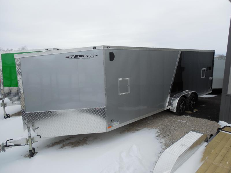 Overstock Liquidation Sale! 2016 Stealth 7x27 Predator Snowmobile Trailer