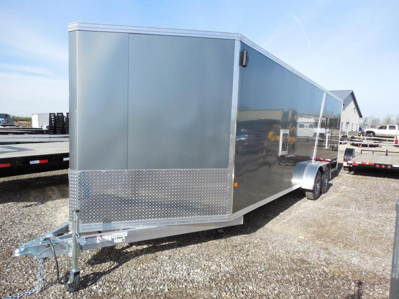 Overstock Liquidation Sale! 2016 EZ Hauler 7x29 w/Extra Height Snowmobile Trailer