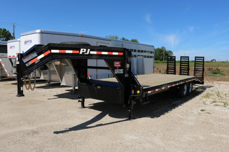 2018 PJ Trailers 25' Flatdeck with Singles Trailer