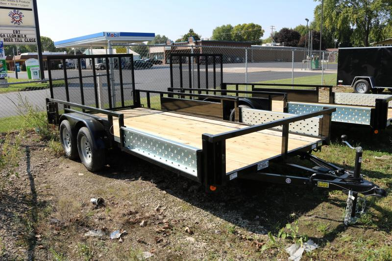 2018 Quality Steel 82x16'  Trailer