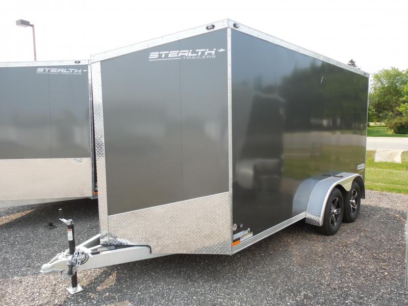 2016 Stealth Trailers 7x14 Super Lite Cargo / Enclosed Trailer