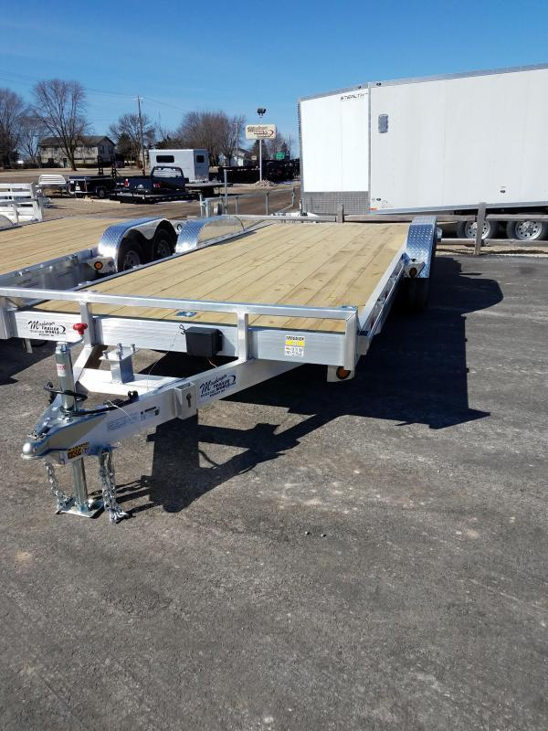 2018 Quality Steel and Aluminum 8320ALEH 10K Equipment Trailer