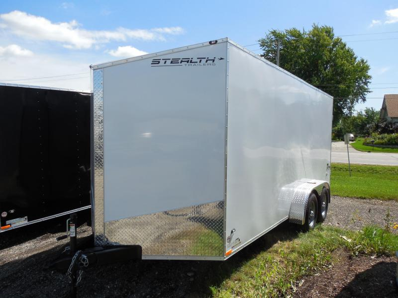 2015 Stealth Trailers Titan 7x16 with Swing Door/Extra Height Cargo / Enclosed Trailer