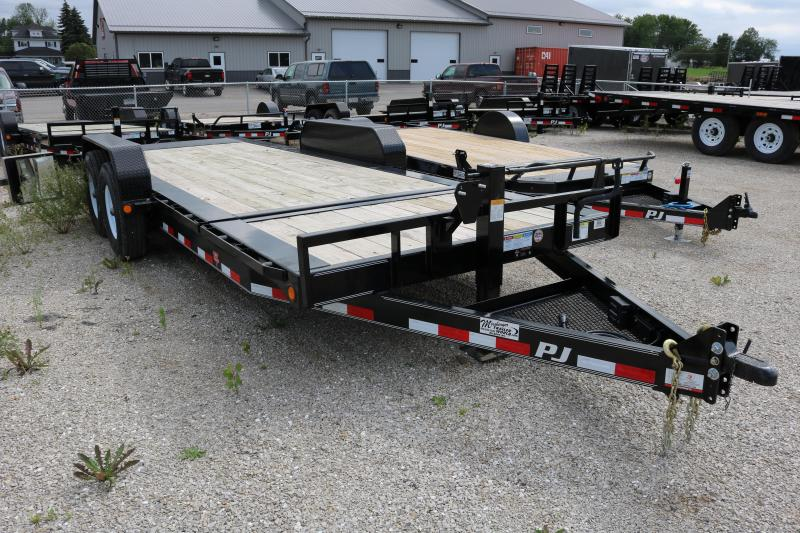 2017 PJ Trailers 20' HD Equipment Tilt Trailer