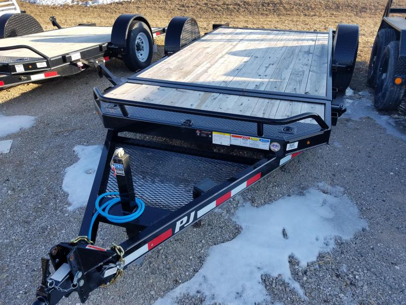 2018 PJ Trailers T1161 Equipment Trailer