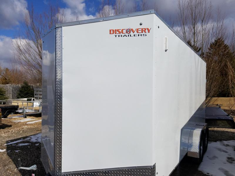 2019 Discovery Trailers CLASSIC SERIES 7X16 Enclosed Cargo Trailer