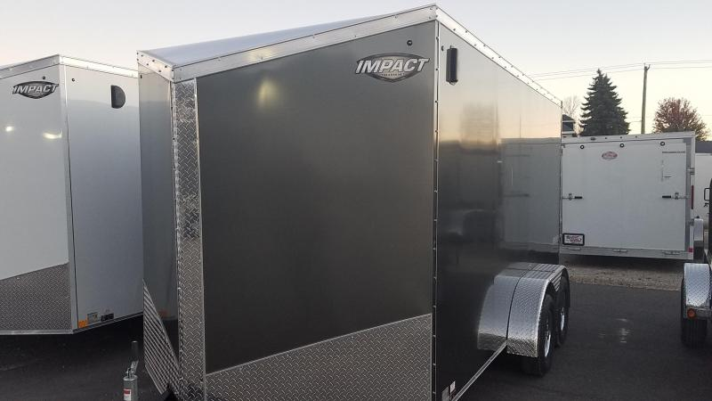 2019 Impact Trailers Classic Series 7x14