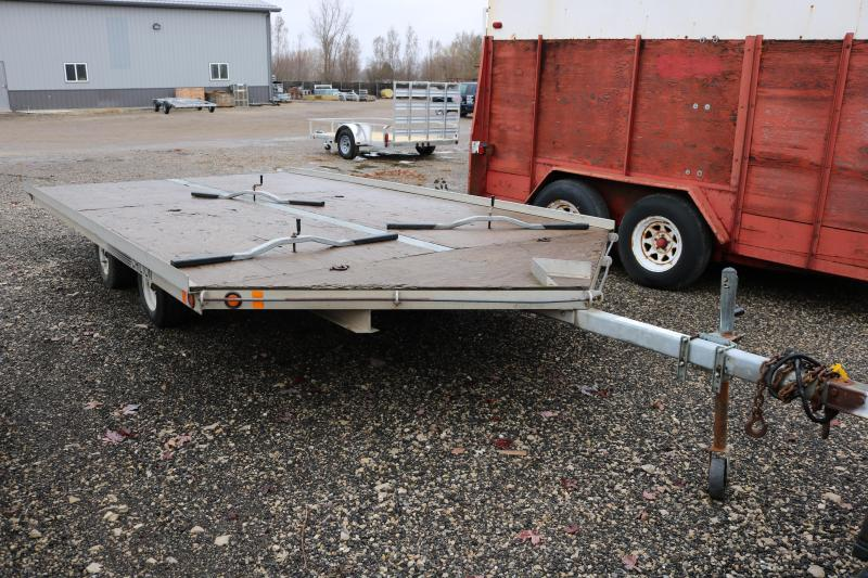 2003 Chilton 14' 3 Place Snowmobile Trailer