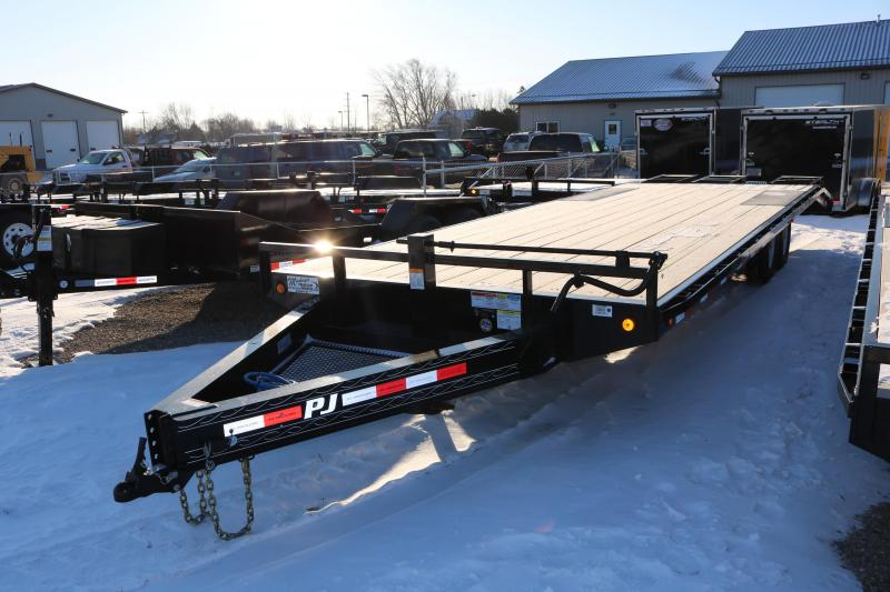 2018 PJ Trailers 26' I-Beam Deckover Trailer