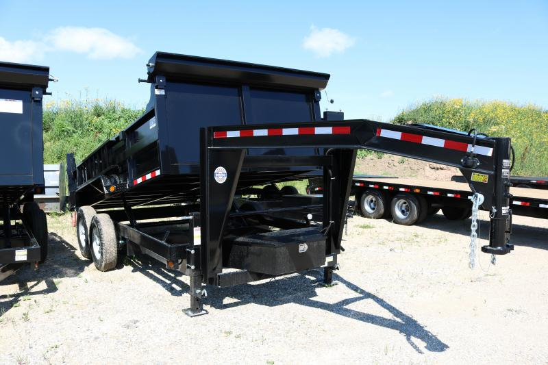 2018 Quality Steel 14' LP Dump Trailer