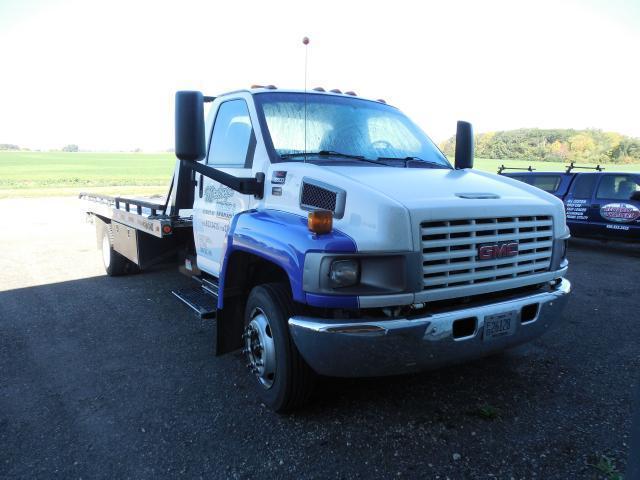 2003 GMC C5C042 Rollback Hauler