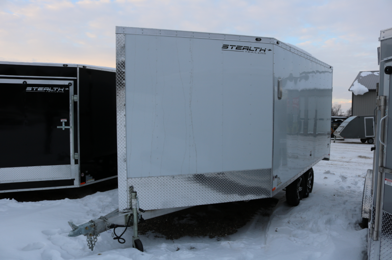 2017 Stealth Trailers 8.5x19 Apache Snowmobile Trailer