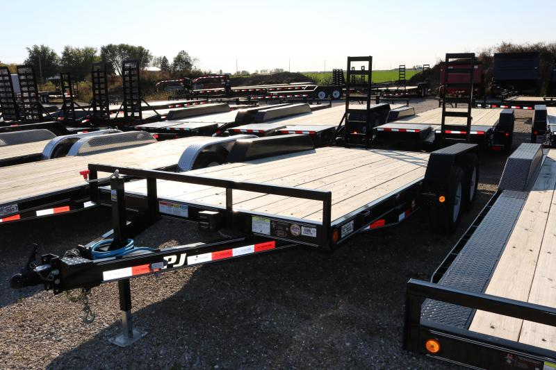 2017 PJ Trailers 16' CE Equipment Trailer