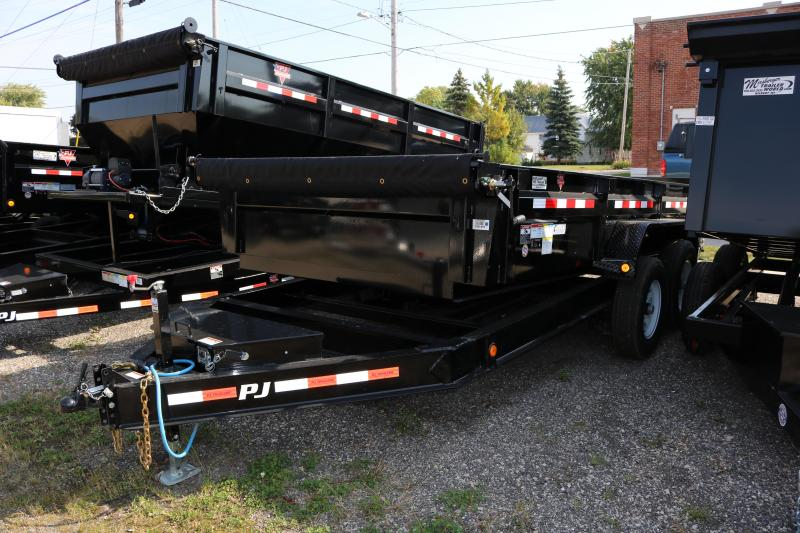 "2018 PJ Trailers 14x83"" Low Pro Dump Trailer"