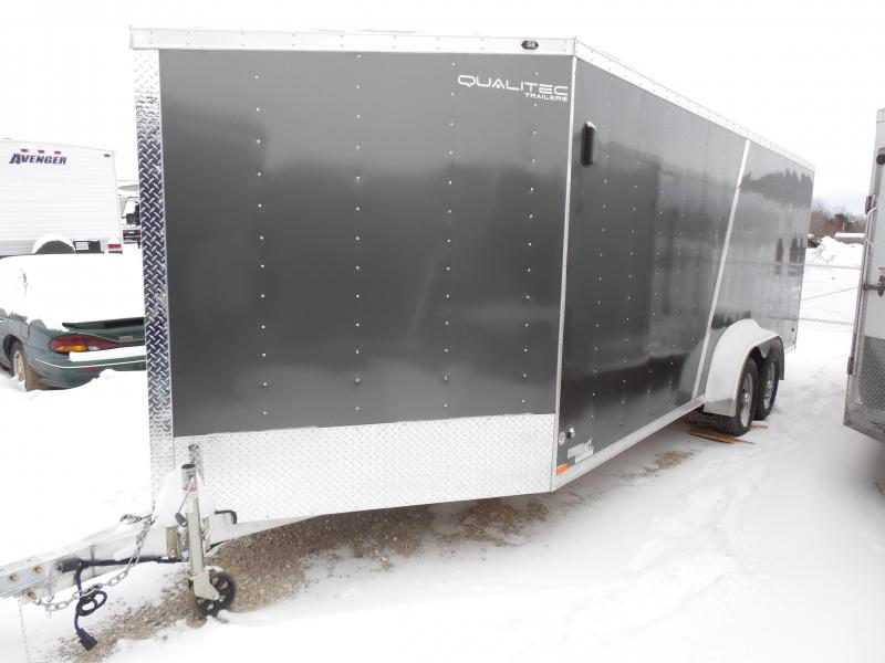 Overstock Liquidation Sale! 2016 Stealth 7x25 Comanche w/Extra Height Snowmobile Trailer