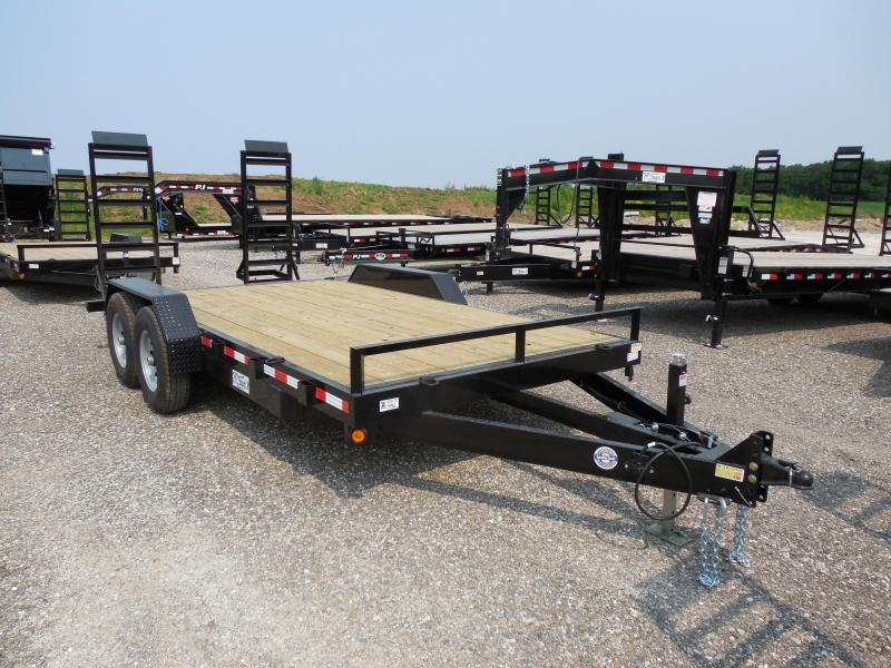 2016 Quality Steel and Aluminum 83x16 14k Equipment Trailers