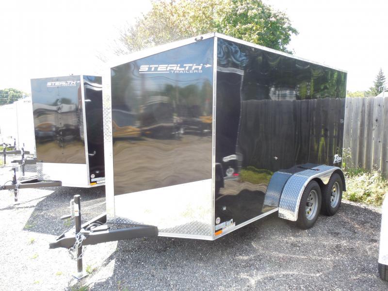 2015 Stealth Trailers Titan SE 6x12 Tandem Axle Cargo / Enclosed Trailer