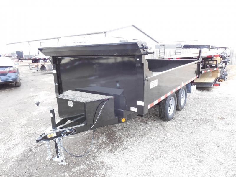2018 Quality Steel and Aluminum 6x12 Dump Trailer