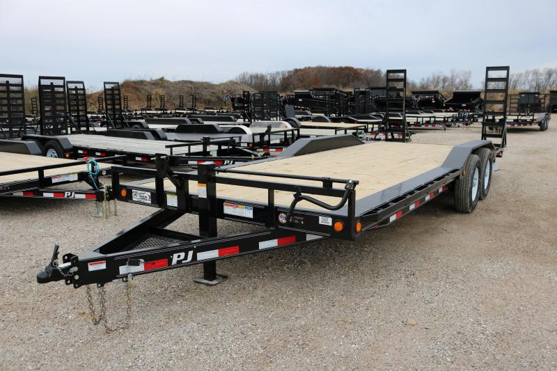 2018 PJ Trailers 22' Channel Super-Wide Trailer