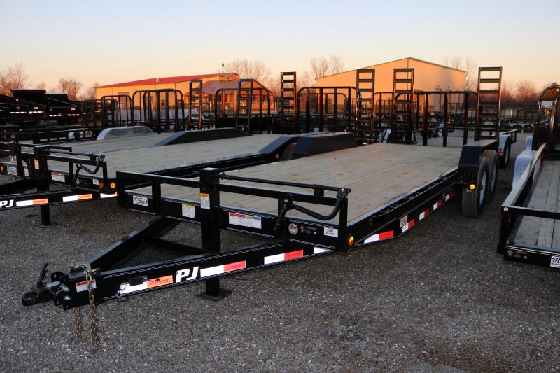2018 PJ Trailers 22' CC Channel Equipment Trailer
