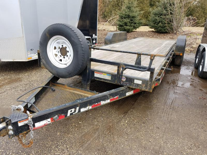 2015 PJ Trailers T6 Equipment Trailer