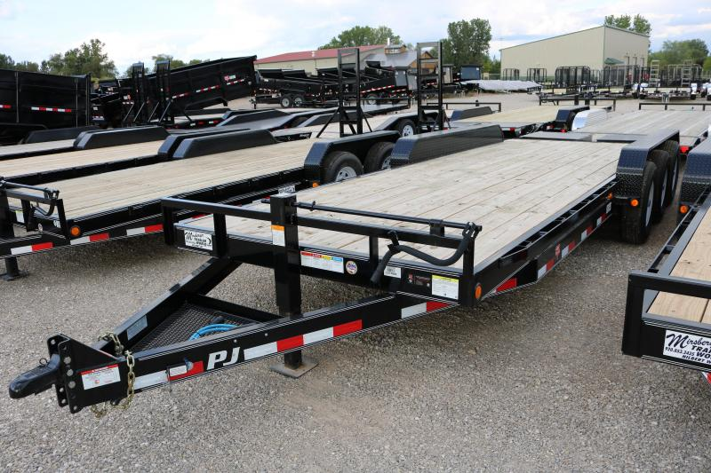 2018 PJ Trailers 24' Triple Axle Equipment Trailer