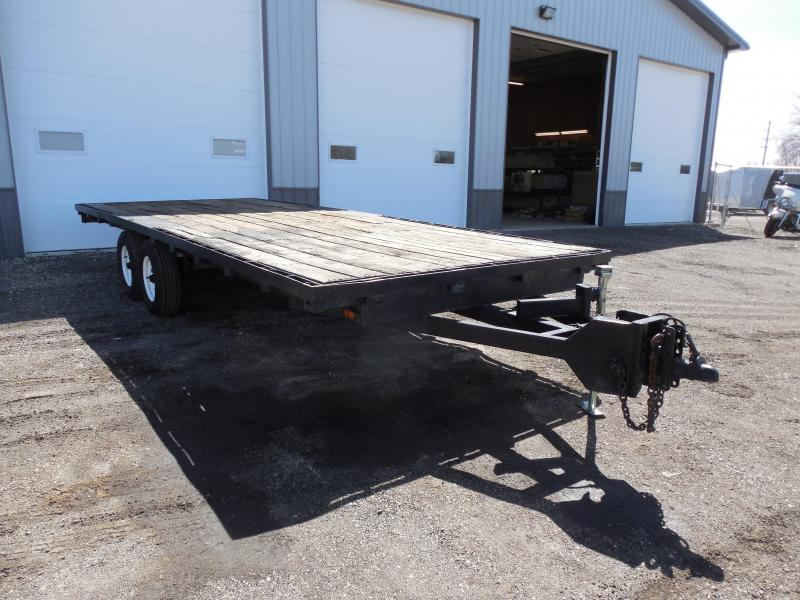 2000 20ft Deckover Flatbed Trailer