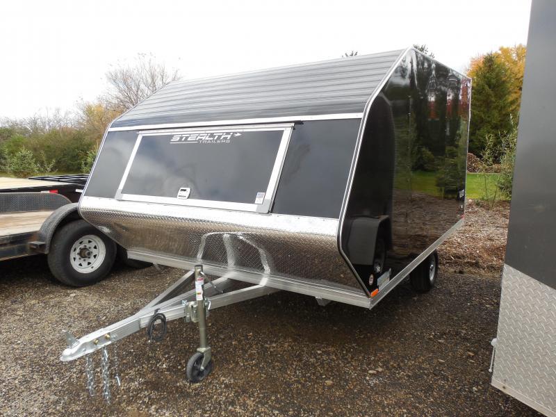 2015 Stealth Glacier 102x12 Enclosed Snowmobile Trailer
