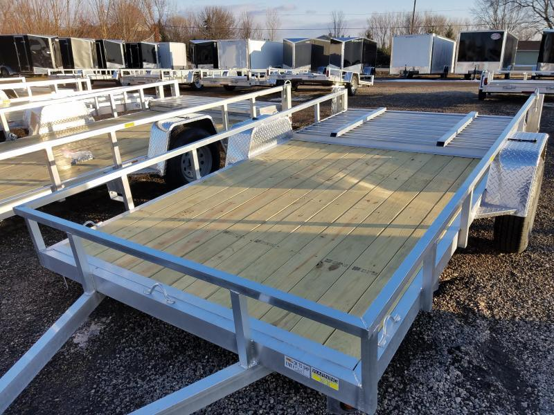 2018 Quality Steel and Aluminum 7412ALSL3.5KSA Utility Trailer
