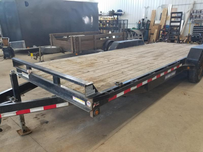 2013 Sure-Trac 83X22 Equipment Trailer