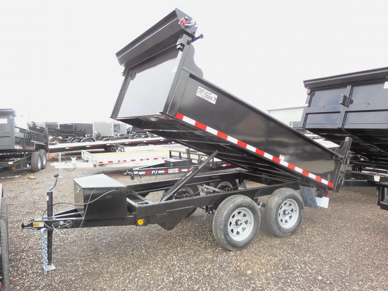 2015 Quality Steel 72x10 with Bulkhead Dump Trailer