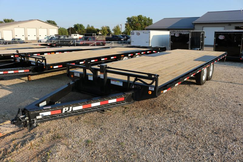 2018 PJ Trailers 22' I-Beam Deckover Trailer