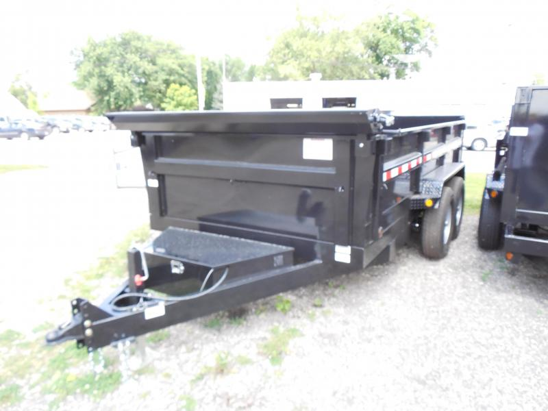 2015 Quality Steel and Aluminum 83X14 14K CJ Heavy Hauler Dump Trailer
