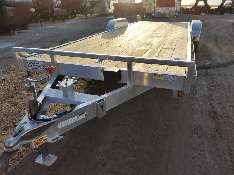 2018 Quality Steel and Aluminum 8324ALEH 10K Equipment Trailer
