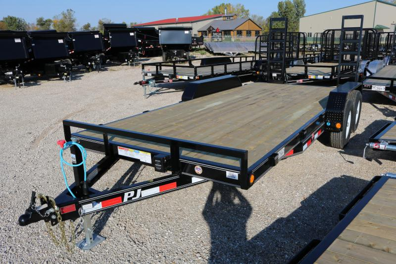 2018 PJ Trailers 18' CE Equipment Trailer