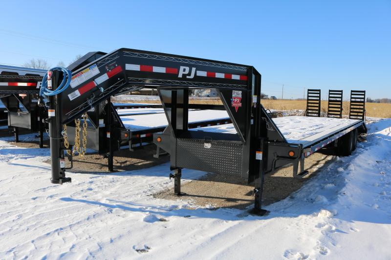 2018 PJ Trailers 32' Flatdeck with Duals Trailer