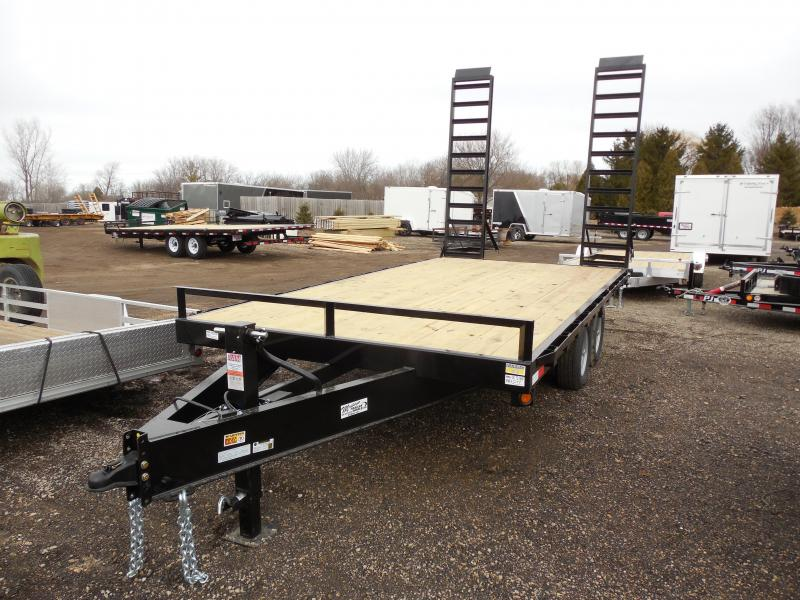 2015 Quality Steel and Aluminum 102x16 DO Equipment Trailers