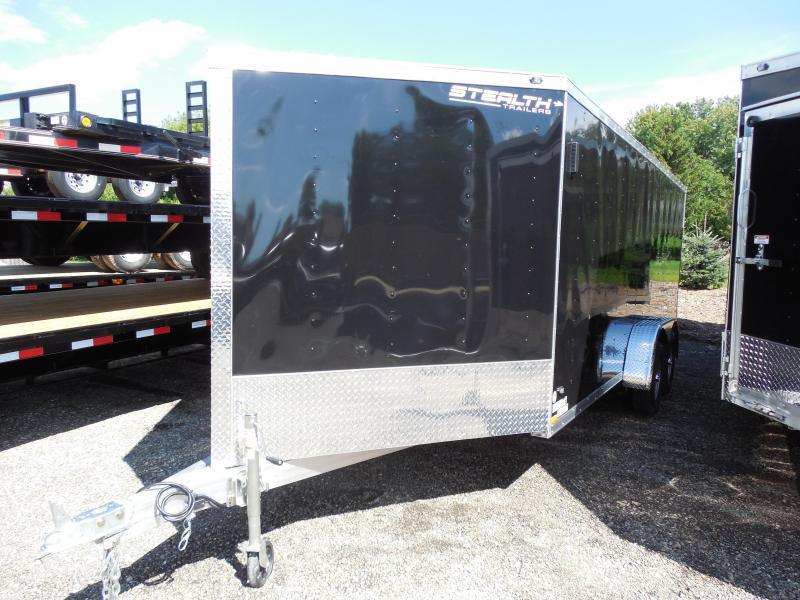 2015 Stealth Trailers Apache 7x23 Snowmobile Trailer