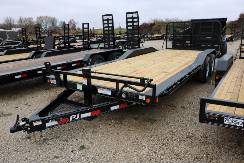2018 PJ Trailers 22' Channel B6 Super-Wide Trailer