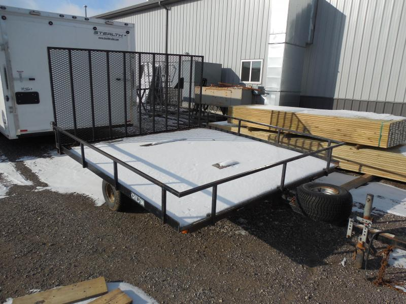 2003 Chilton 8x8 Deck Over with Ramp Utility Trailer
