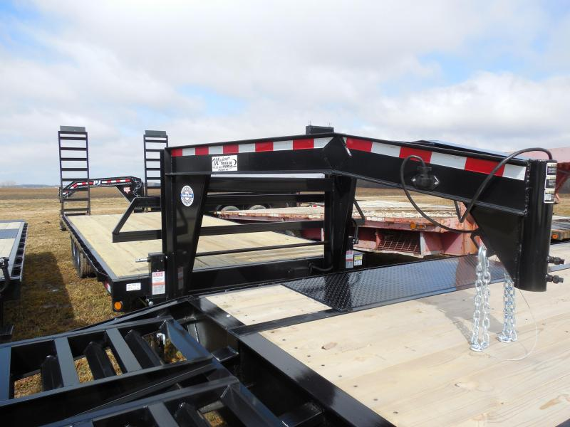 2015 Quality Steel 102x20 Gooseneck 14K Equipment Trailers
