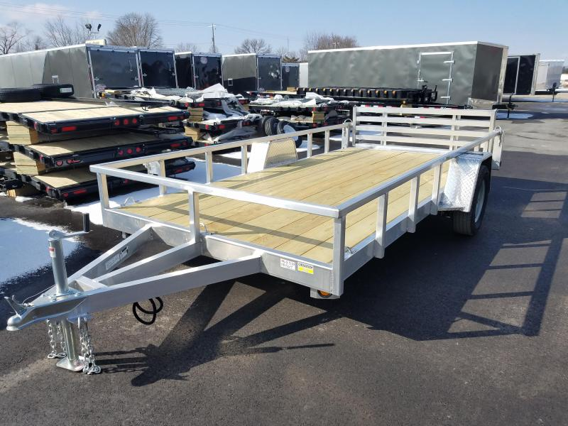 2018 Quality Steel and Aluminum 8014ALDX3.5KSA Utility Trailer