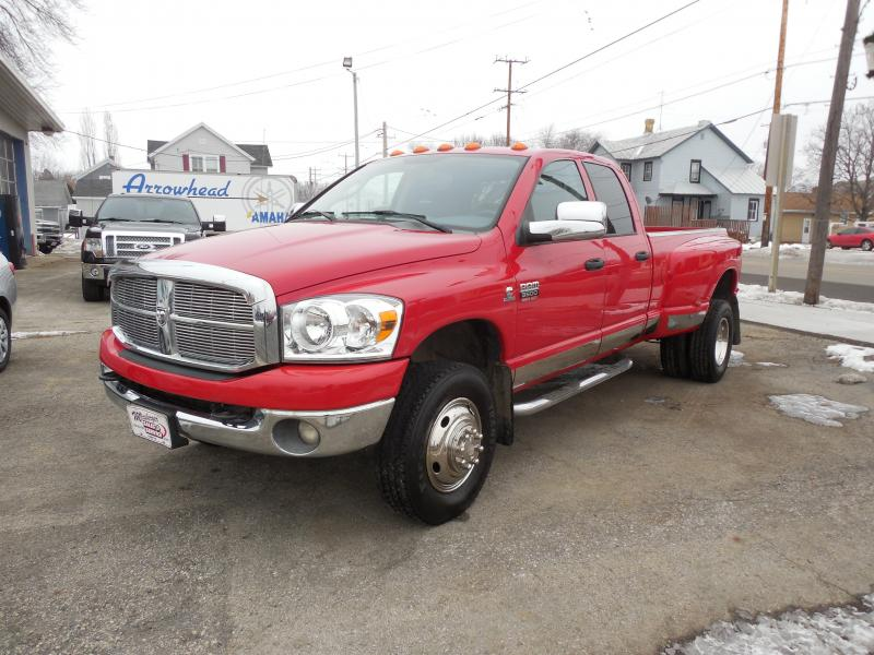 2008 Dodge Ram 3500 HD Extended Cab Big Horn Dually Diesel 4x4